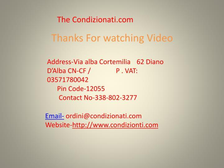 The Condizionati.com