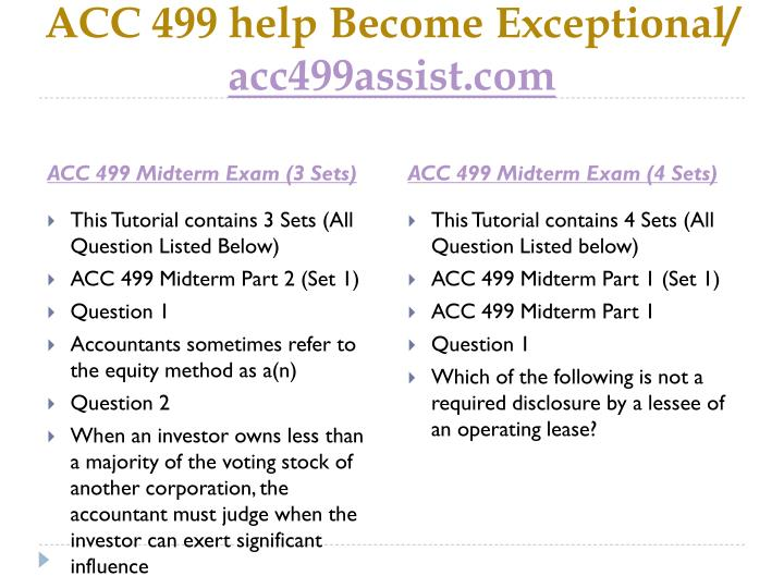 Acc 499 help become exceptional acc499assist com2