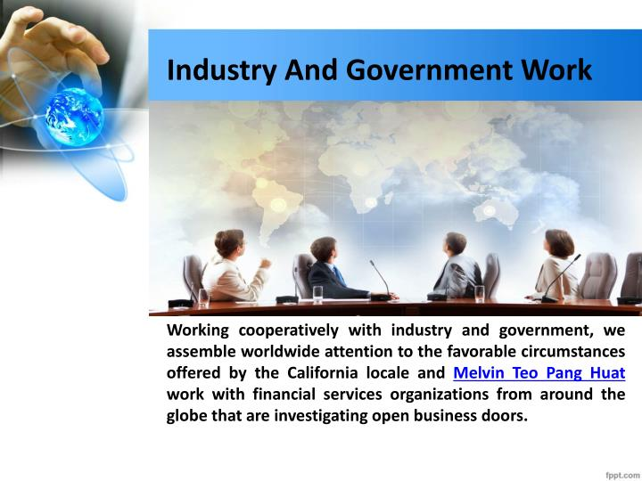 Industry and government work