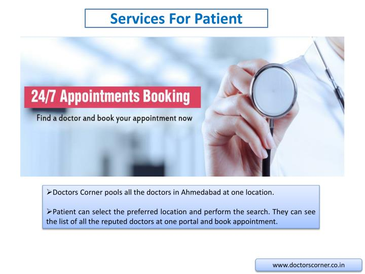 Services for patient