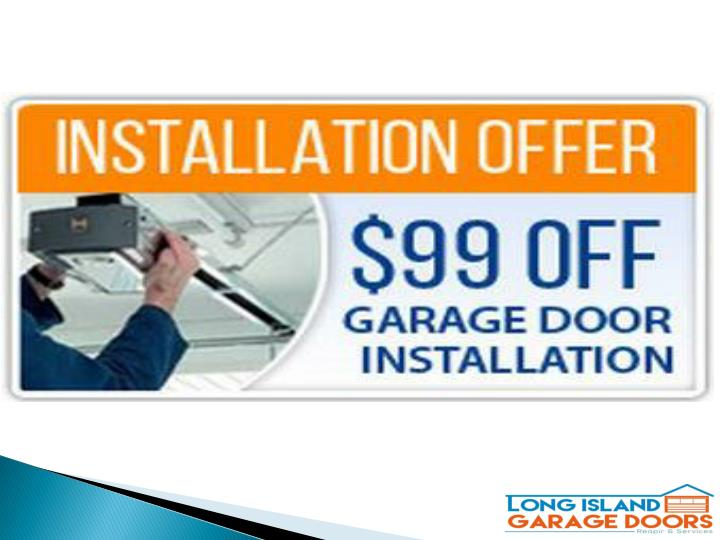 Repair garage door before winters