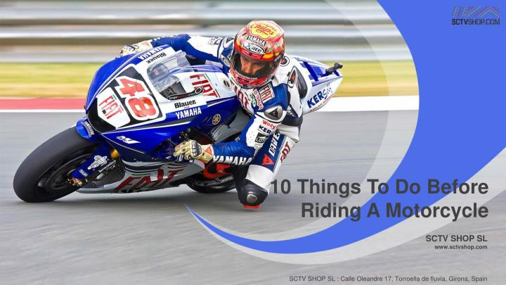 10 Things To Do Before