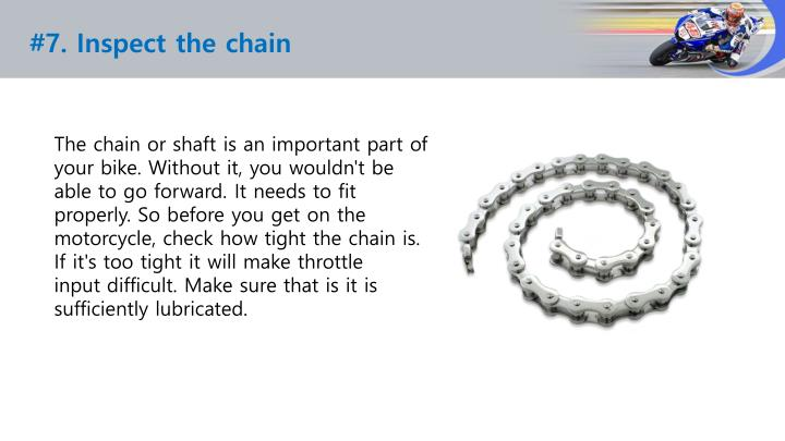 #7. Inspect the chain
