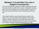 mistakes to avoid when you join a hoppers crossing gym4