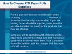 how to choose atm paper rolls suppliers3