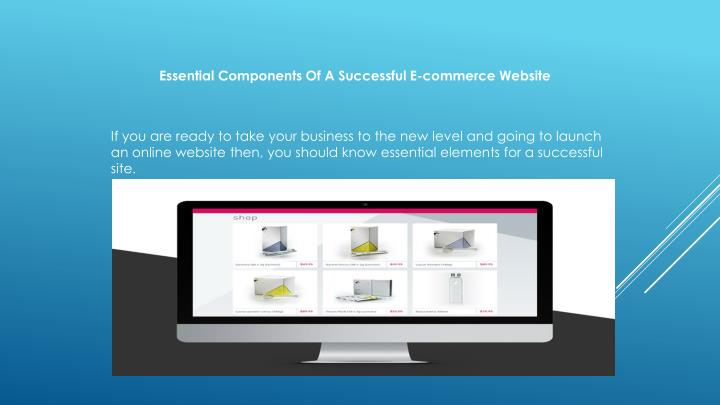 Essential Components Of A Successful E-commerce Website