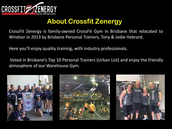 About crossfit zenergy
