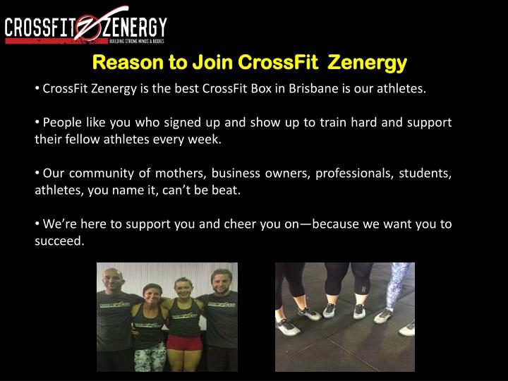Reason to Join CrossFit