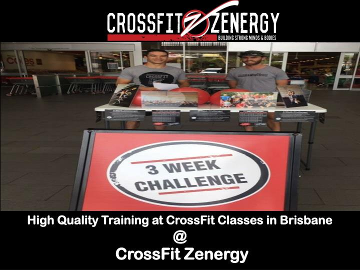 High Quality Training at CrossFit Classes in Brisbane