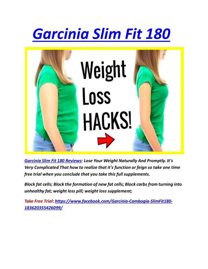 Garcinia slim fit 1801