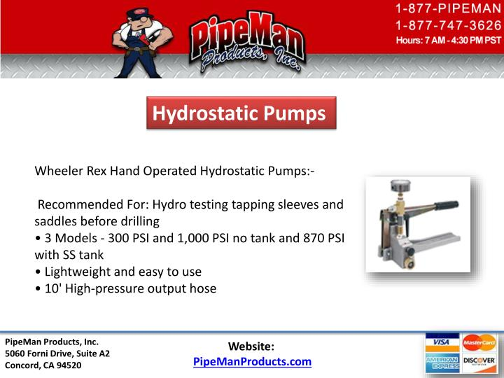 Hydrostatic Pumps