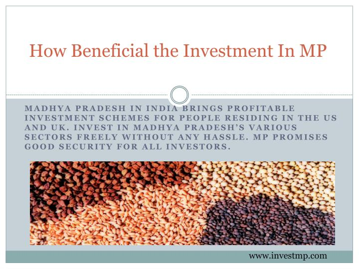 How beneficial the investment in mp