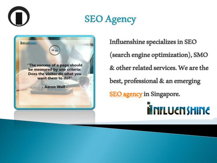Influenshine specializes in SEO