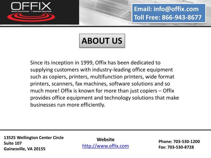 Email: info@offix.com