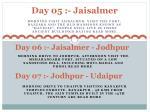 day 05 jaisalmer