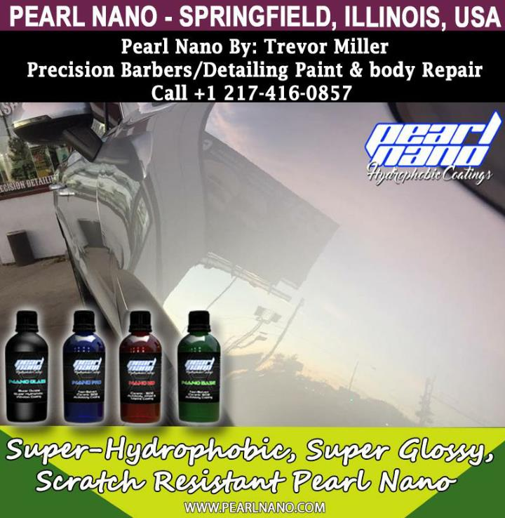 Pearl nano coating springfield illinois ceramic coating installer trevor miller