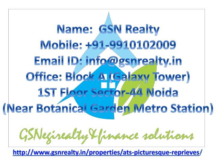 Name:  GSN Realty