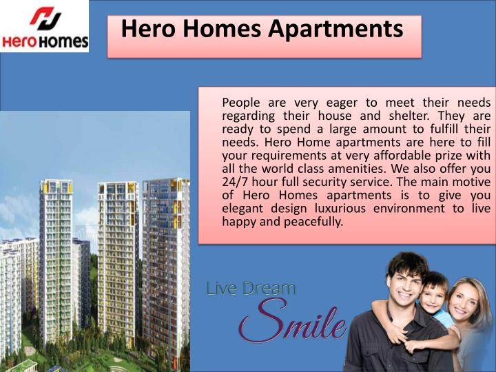 Hero homes apartments
