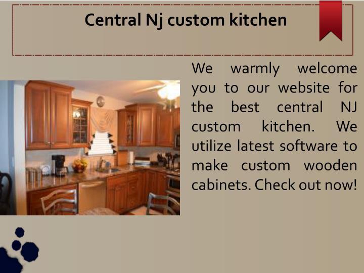 Central Nj custom kitchen