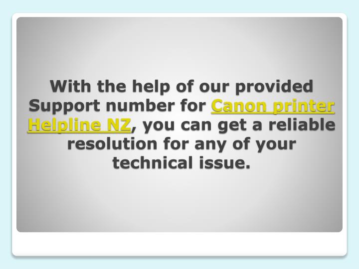 With the help of our provided Support number for