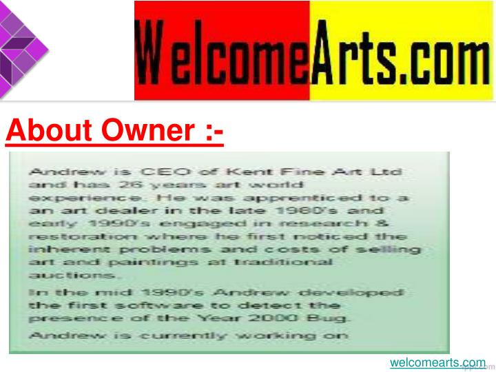 About Owner :-
