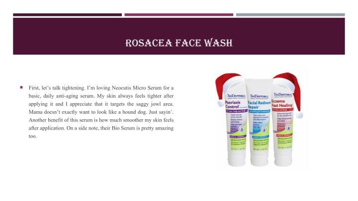 ROSACEA FACE WASH