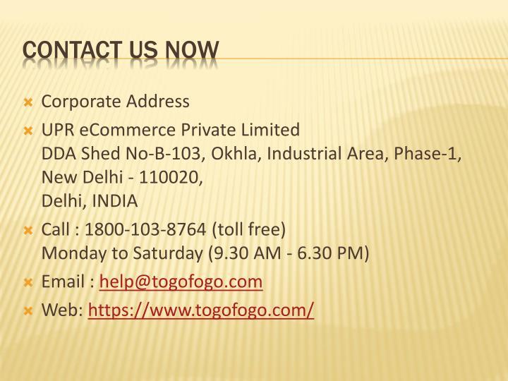 Corporate Address