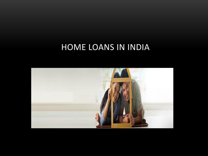 home loans in india n.