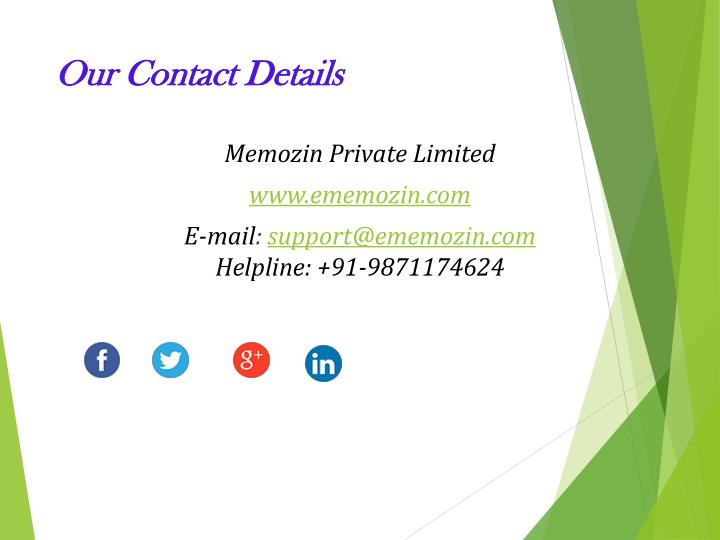Our Contact Details