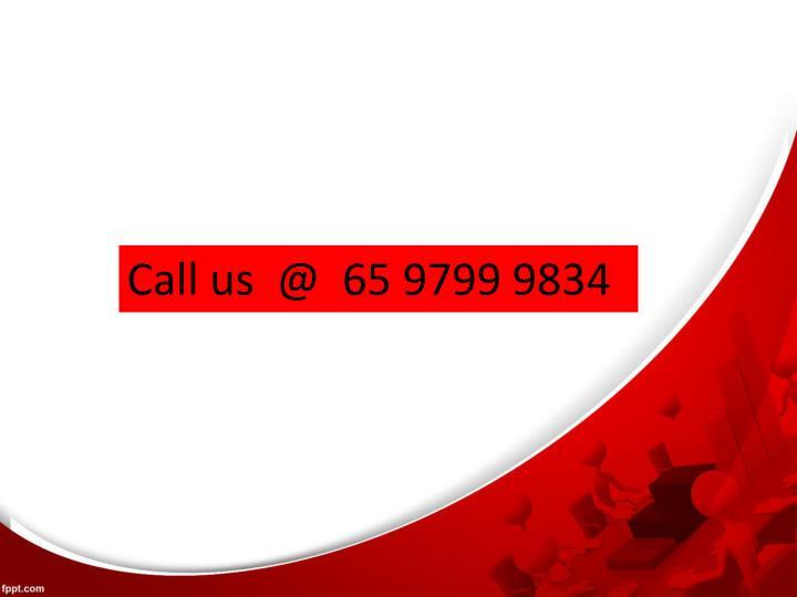 Call us  @  65