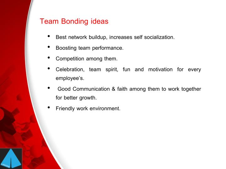 Team bonding ideas