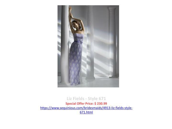 Liz Fields - Style 671