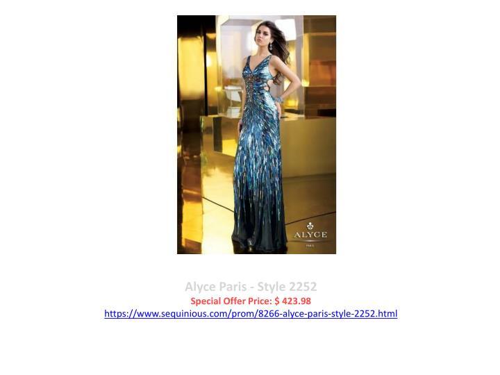 Alyce Paris - Style 2252