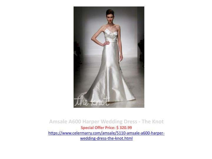 Amsale A600 Harper Wedding Dress - The Knot