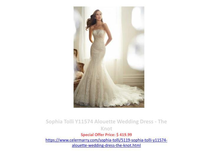 Sophia Tolli Y11574 Alouette Wedding Dress - The Knot