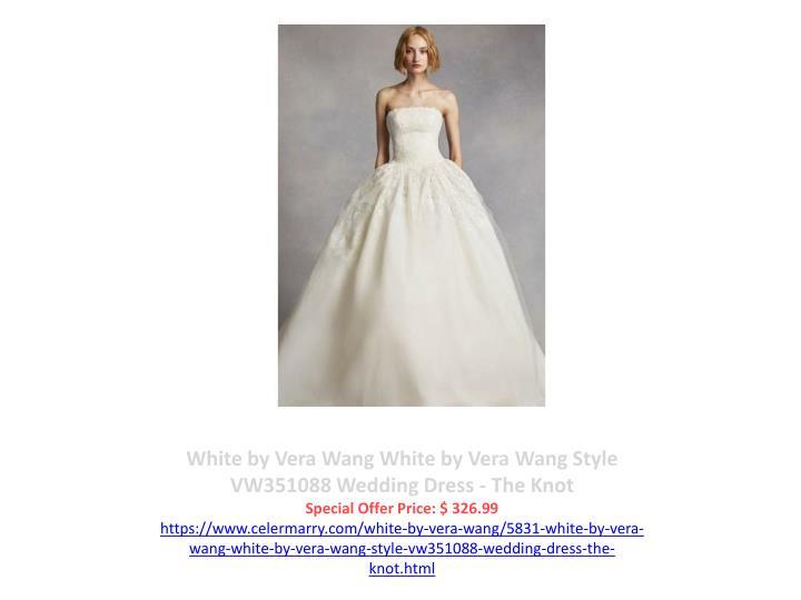 White by Vera Wang White by Vera Wang Style VW351088 Wedding Dress - The Knot