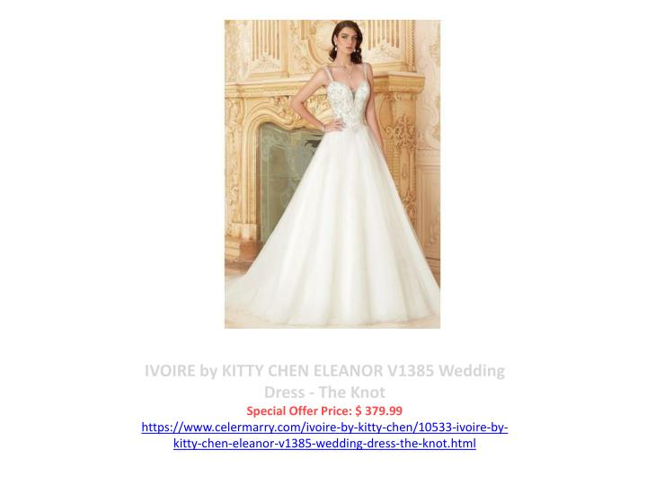 IVOIRE by KITTY CHEN ELEANOR V1385 Wedding Dress - The Knot