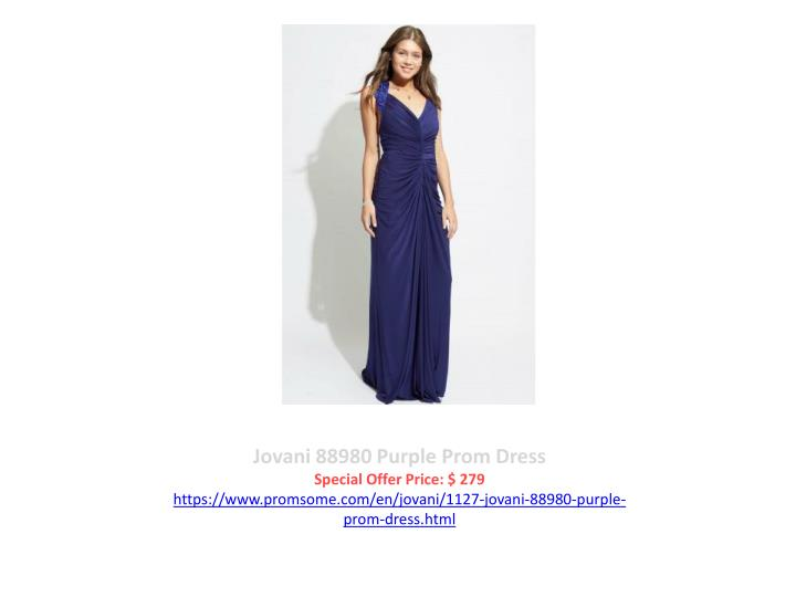 Jovani 88980 Purple Prom Dress
