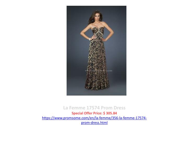 La Femme 17574 Prom Dress