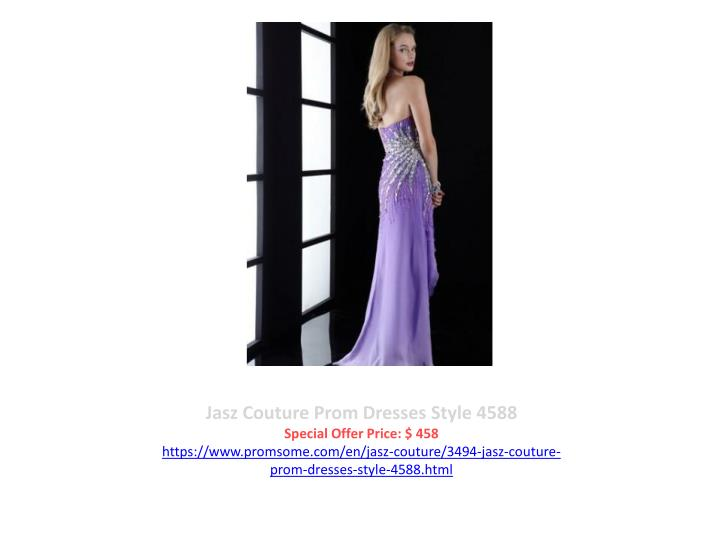 Jasz Couture Prom Dresses Style 4588