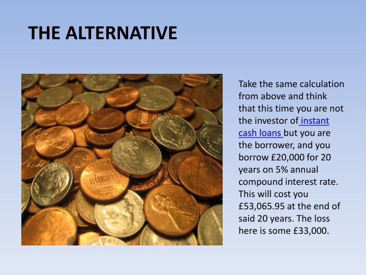 Take the same calculation from above and think that this time you are not the investor of