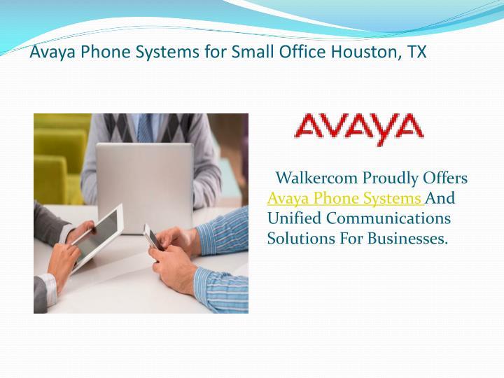 Avaya phone systems for small office houston tx