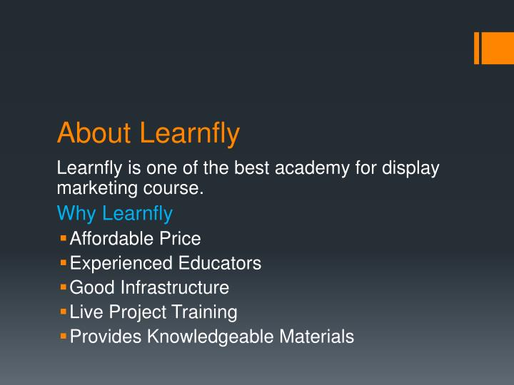 About learnfly