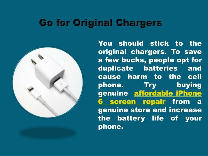 Go for Original Chargers