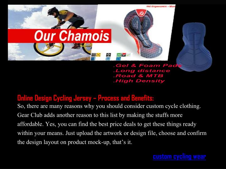 Online Design Cycling Jersey