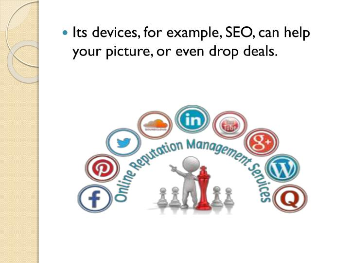 Its devices, for example, SEO, can help your picture, or even drop deals.