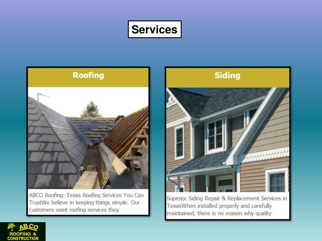Ppt Beaumont Roofing Services Powerpoint Presentation Free Download Id 7432183
