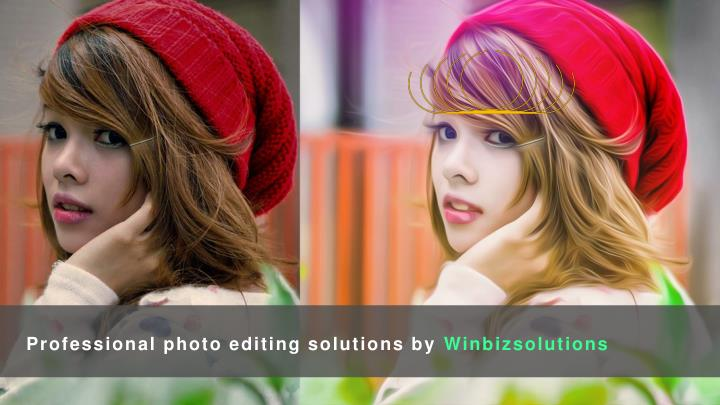 Professional photo editing solutions by