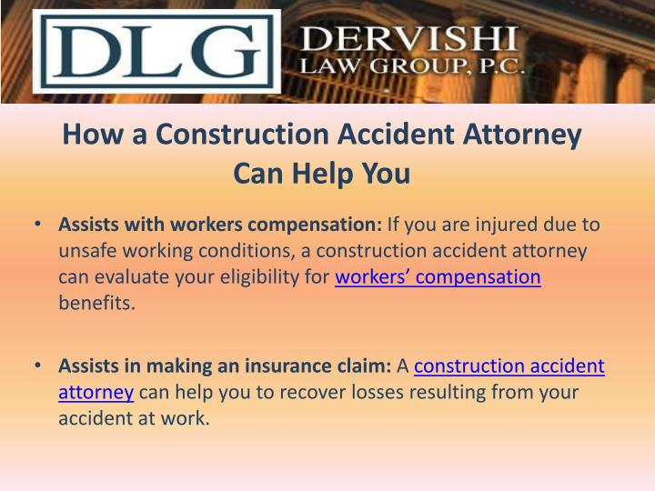 How a c onstruction a ccident attorney can help you