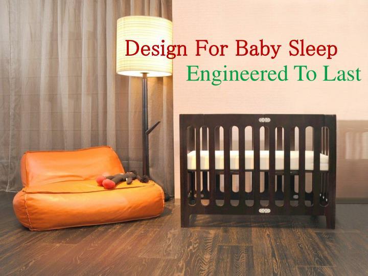 Design For Baby Sleep